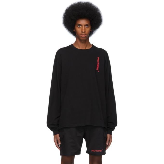 Photo: Polythene* Optics Black Logo Long Sleeve T-Shirt