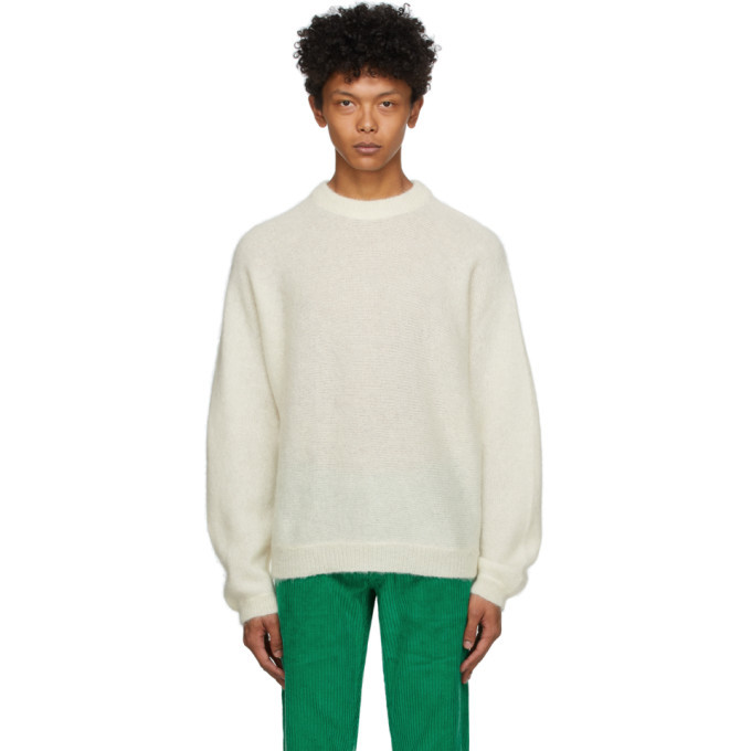 Photo: ERL Off-White Alpaca and Mohair Sweater
