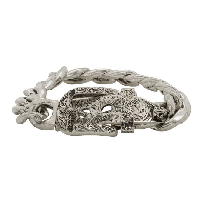 Photo: Gucci Silver Gucci Garden Bracelet
