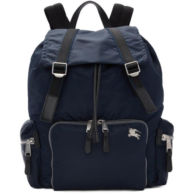 Photo: Burberry Blue Medium Aviator Backpack