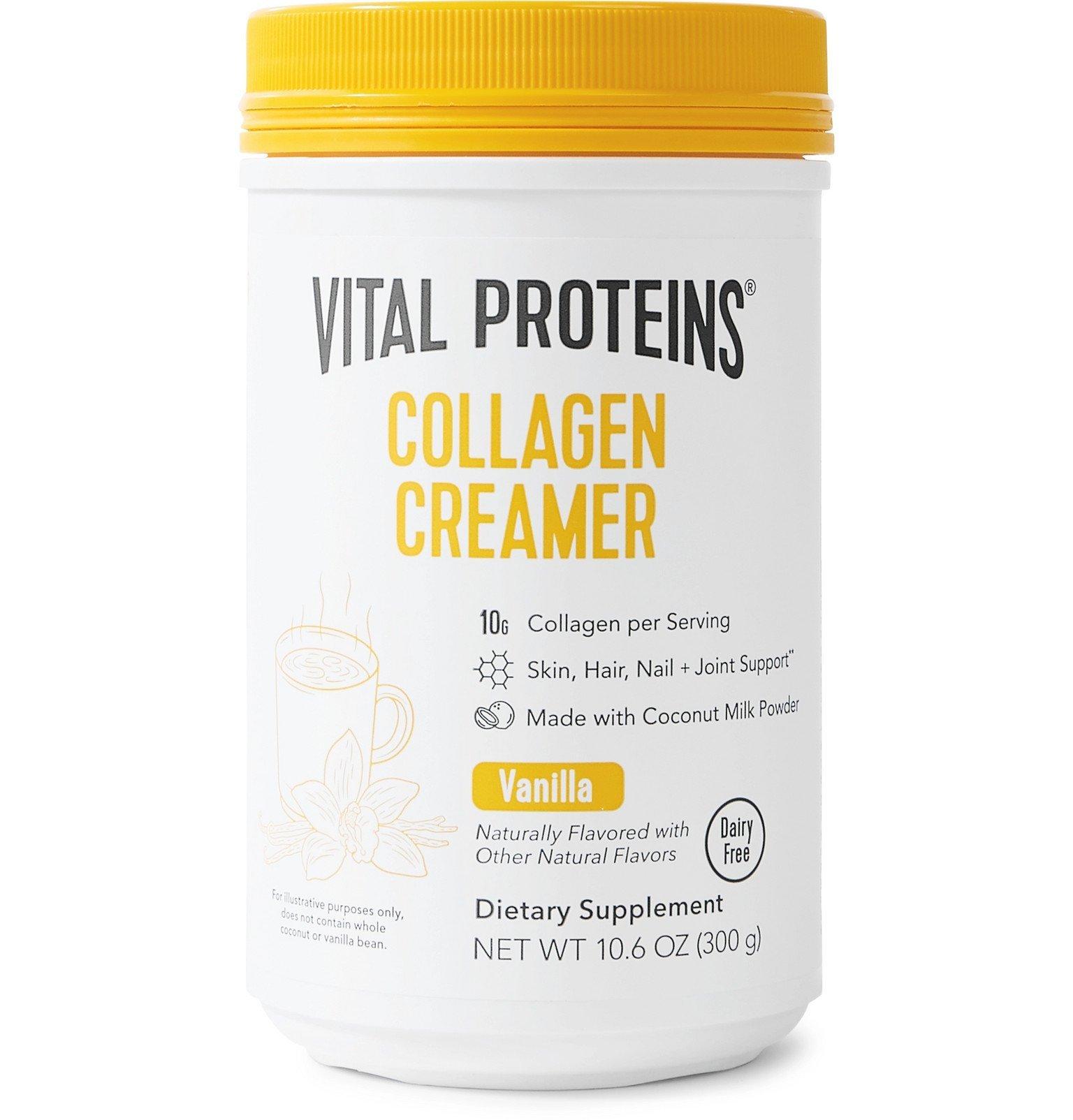 Photo: VITAL PROTEINS - Vanilla Collagen Creamer, 300g - Colorless