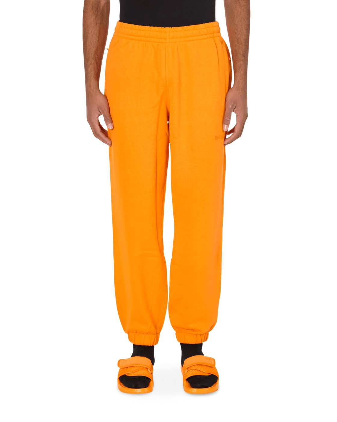 Adidas Originals Pharrell Williams Basics Sweatpants Bright Orange