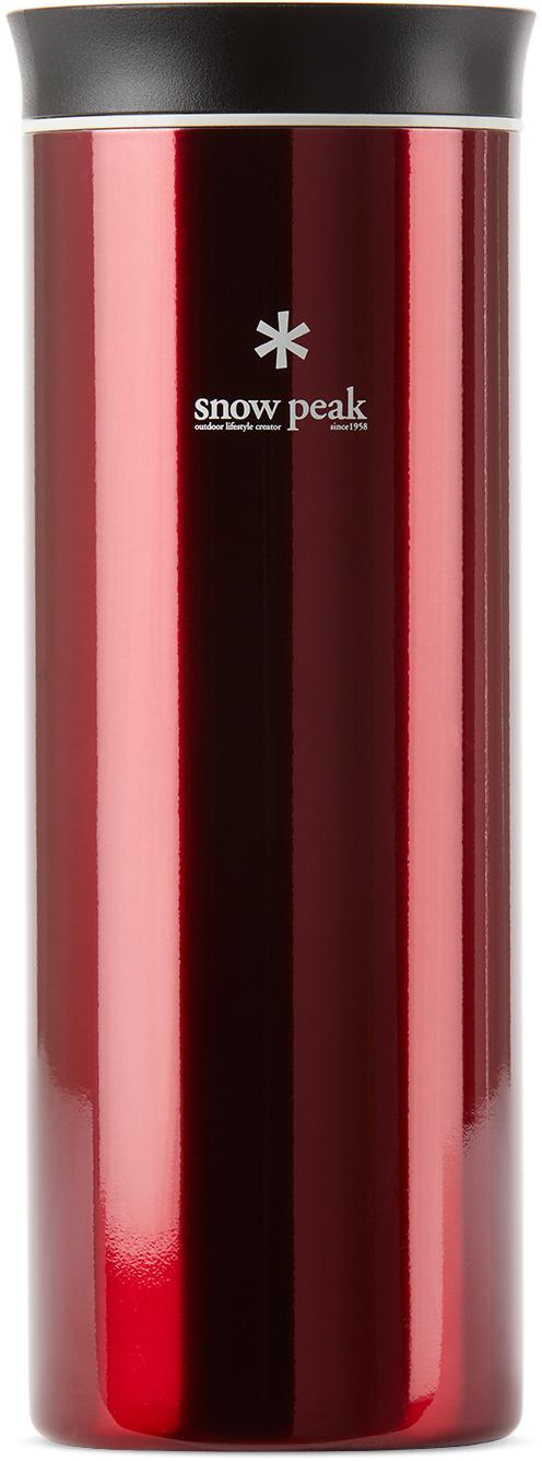 Photo: Snow Peak Red Kanpai Water Bottle, 500mL