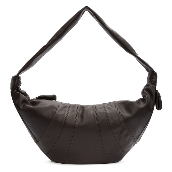 Photo: Lemaire Brown Large Croissant Bag