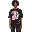 Martine Rose Black Rose Oversized T-Shirt