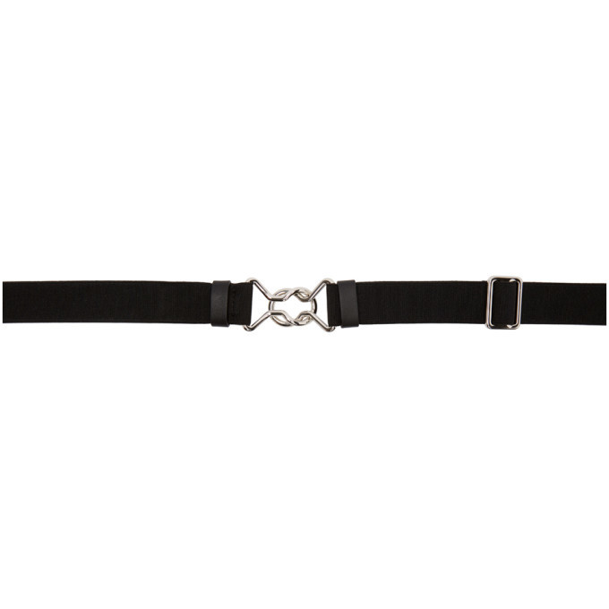 Photo: Valentino Black Valentino Garavani Beltic Belt