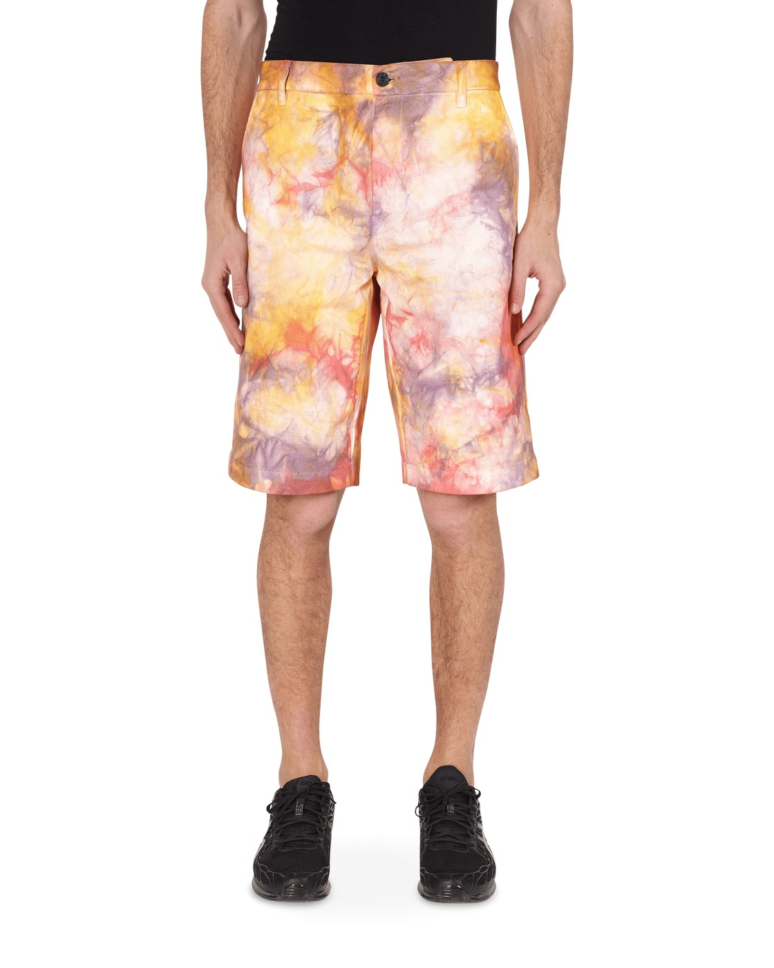 Aries Tie Dye Chino Shorts Multicolor