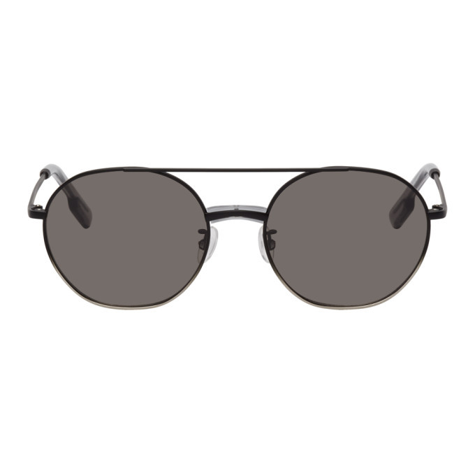 Photo: Kenzo Black Smoke Aviator Sunglasses
