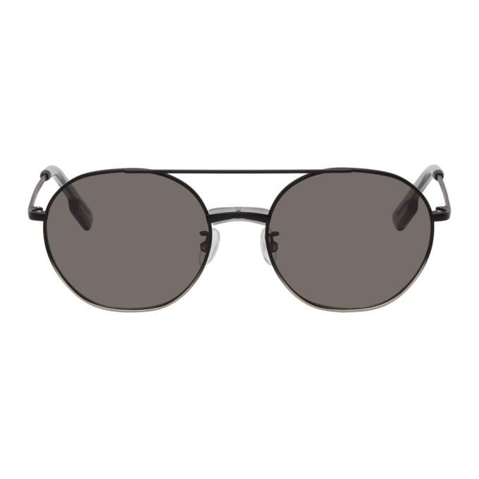 Photo: Kenzo Black Smoke Aviator Sunglasses
