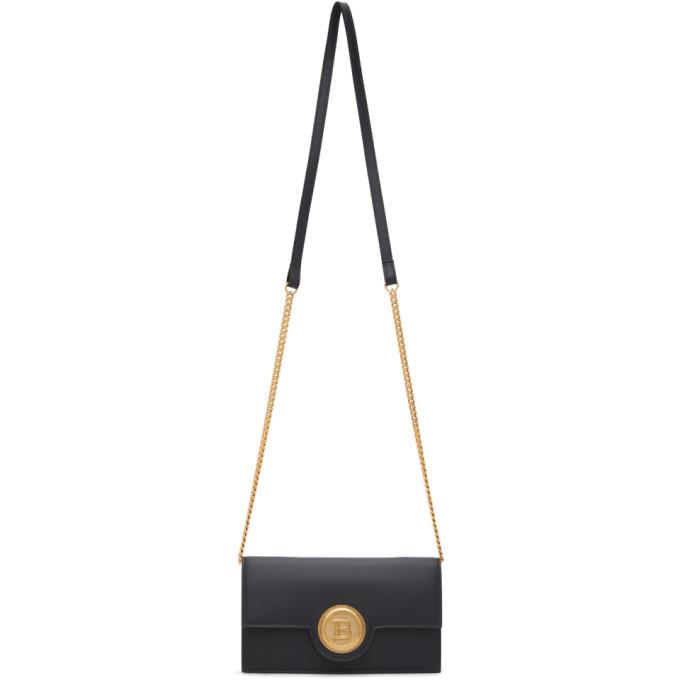 Photo: Balmain Black Smartphone Case Bag