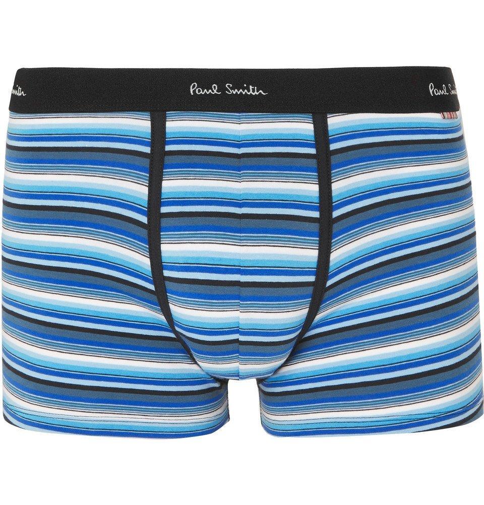 Striped briefs