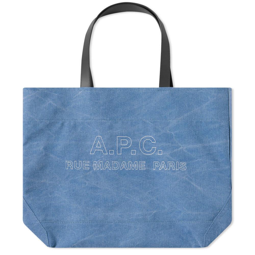 Photo: A.P.C. Igor Stitch Tote Logo Bag