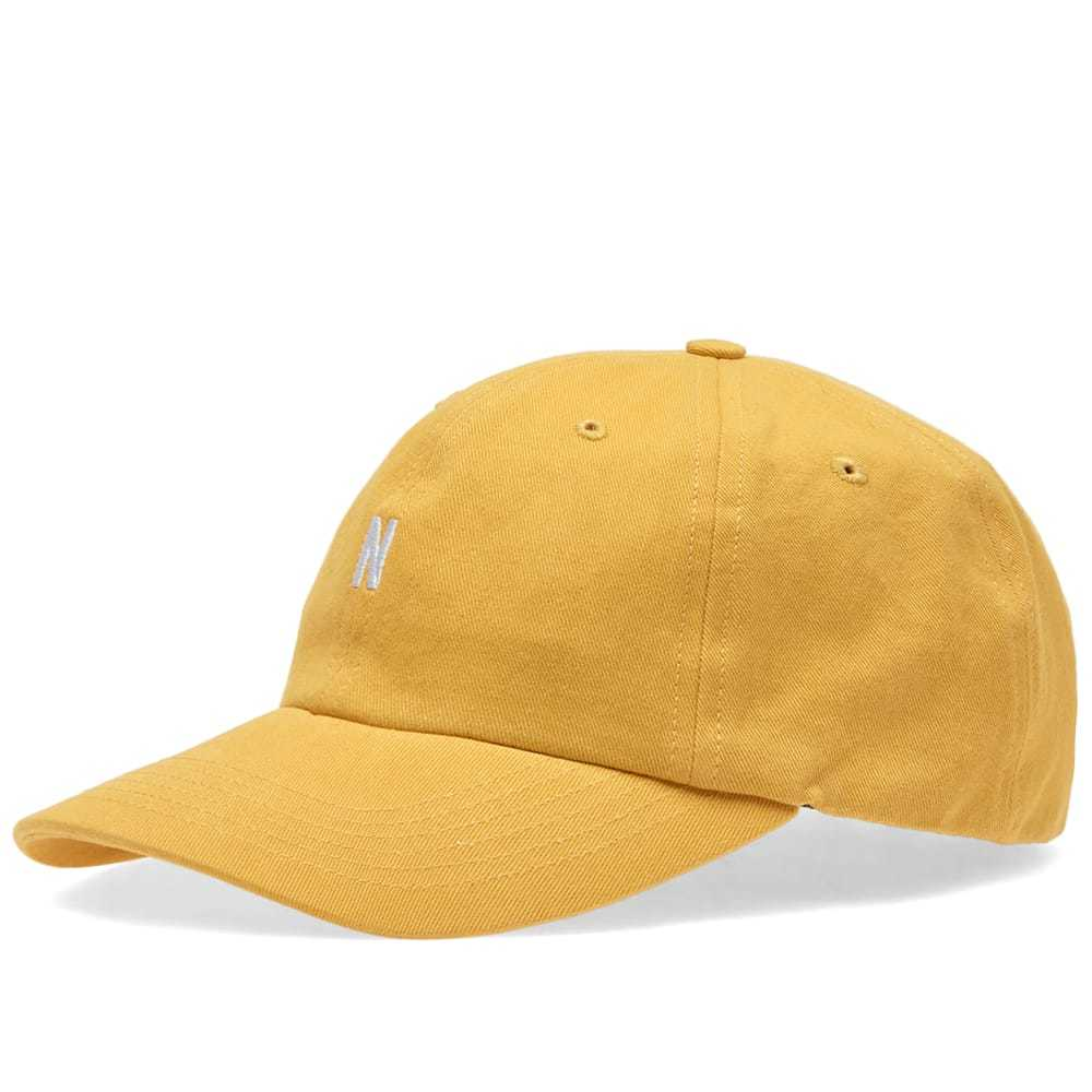 Photo: Norse Projects Twill Sports Cap Sunwashed Yellow