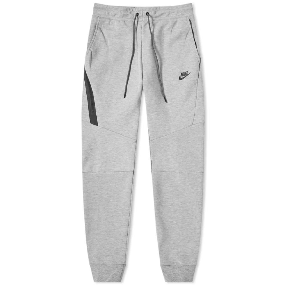 Photo: Nike Tech Fleece Jogger Dark Grey Heather & Black