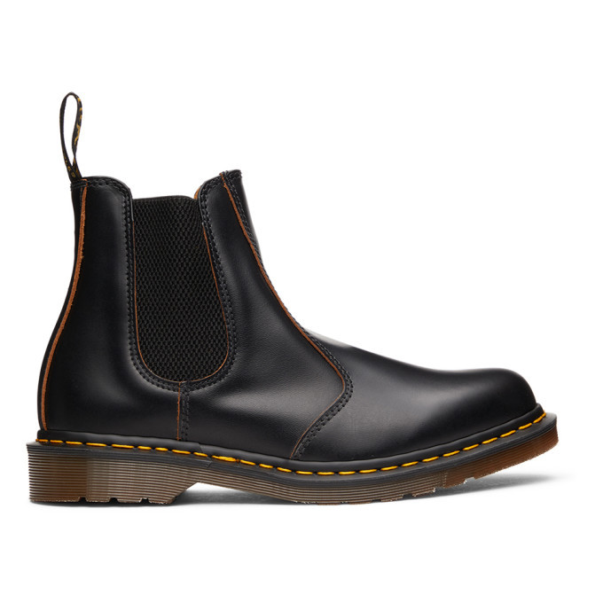 Photo: Dr. Martens Black Made In England 2976 Chelsea Boots