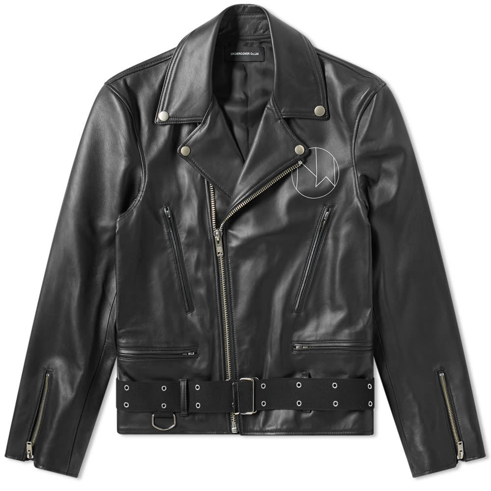 Photo: Undercover New Warriors Leather Jacket