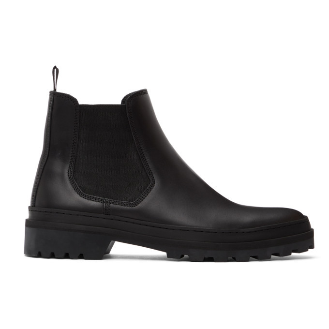 Photo: A.P.C. Black Cali Chelsea Boots