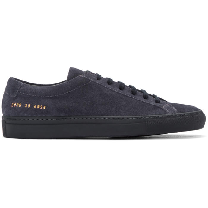 Common Projects Navy Original Achilles Sneakers