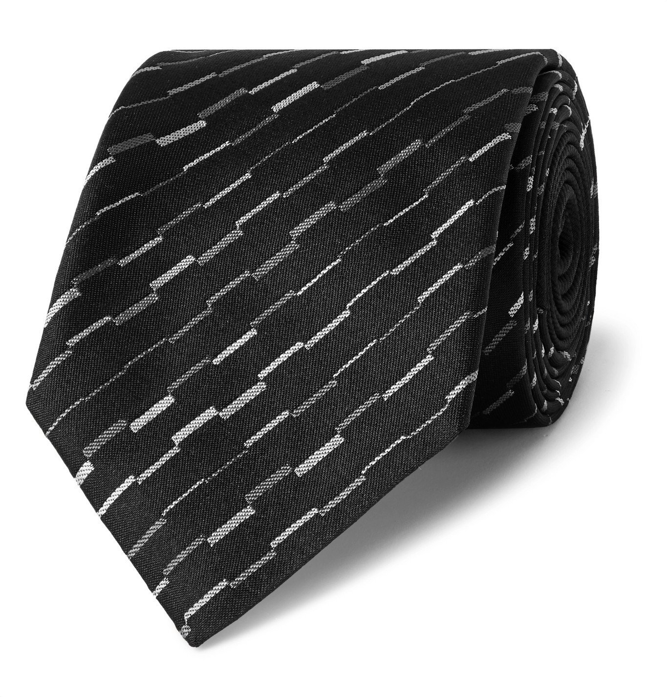 Photo: Missoni - 7cm Silk-Jacquard Tie - Black