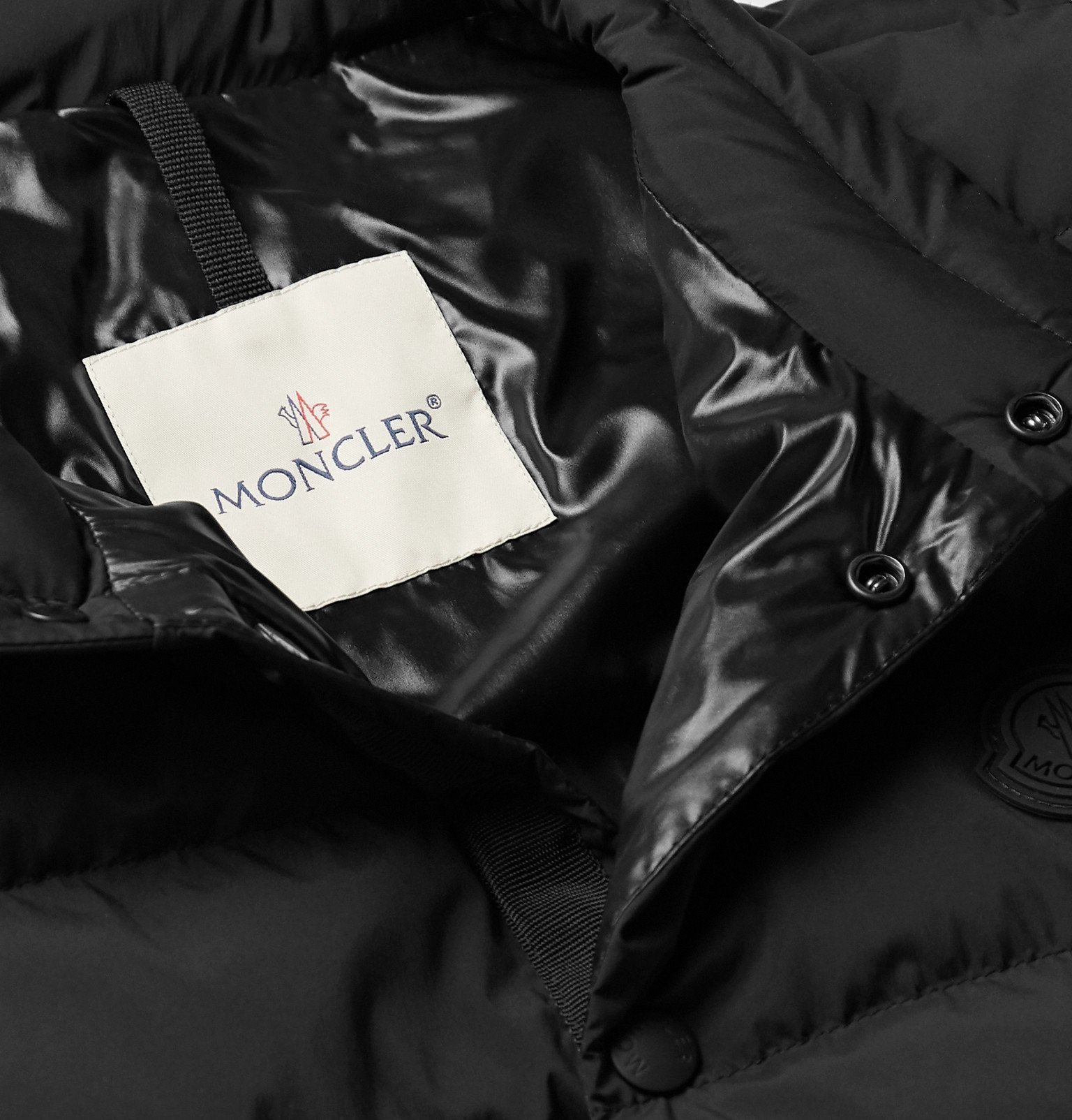 Moncler - Quilted Shell Down Gilet - Black
