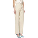 Nina Ricci Off-White Straight Jeans