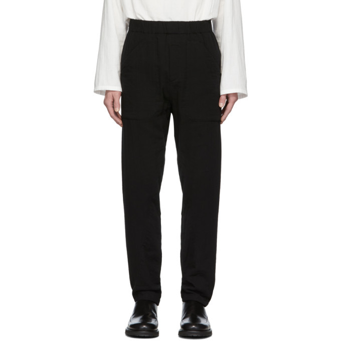 Photo: Ann Demeulemeester Black Patch Pocket Trousers