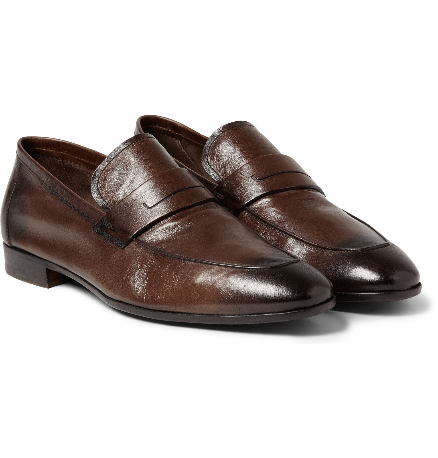 Photo: Berluti - Lorenzo Leather Loafers - Brown