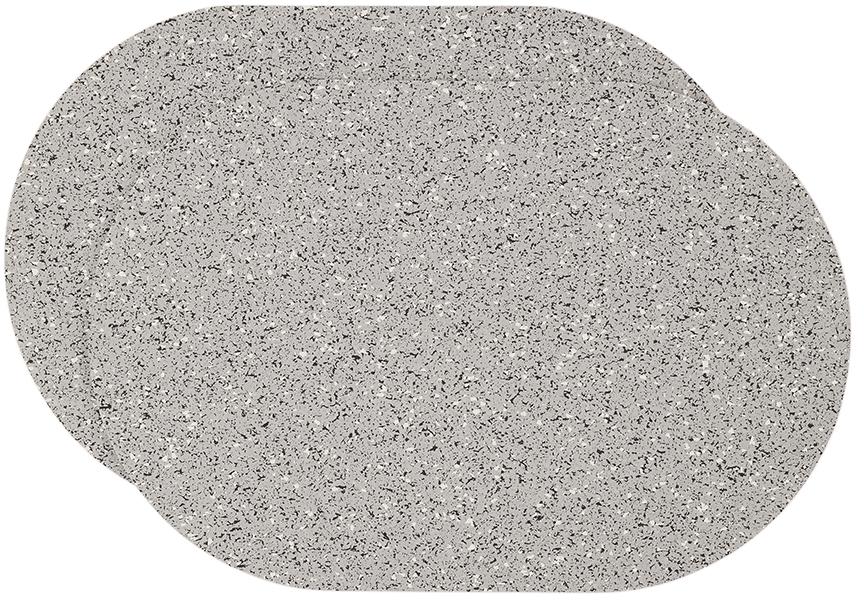 Slash Objects Grey Capsule Placement Mat Set