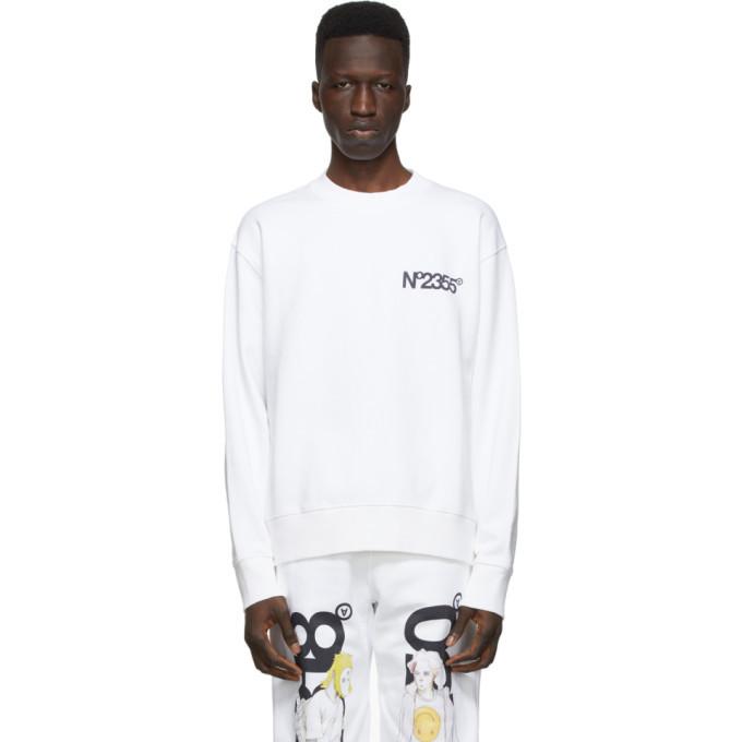 Photo: The DSA White No2355 Sweatshirt