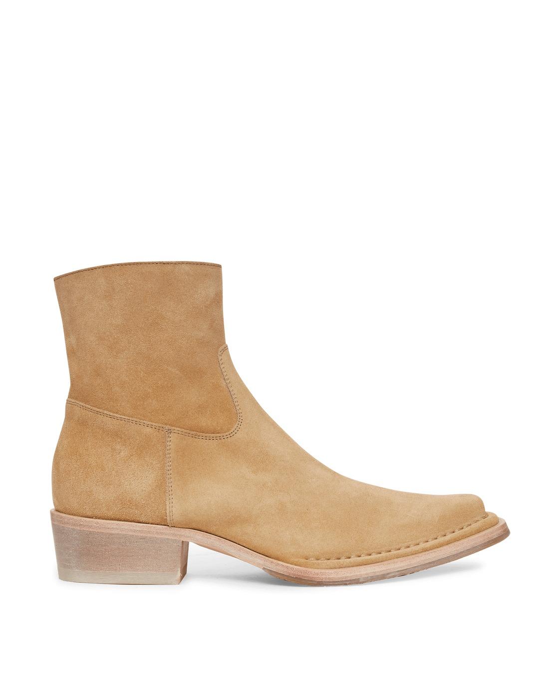 Photo: Acne Studios Suede Boots Desert Beige