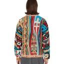 Kapital 7g Kachina Gaudy Knit Sweater Red