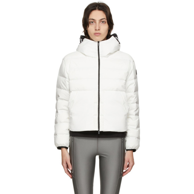 Photo: Moncler White Down Anwar Jacket
