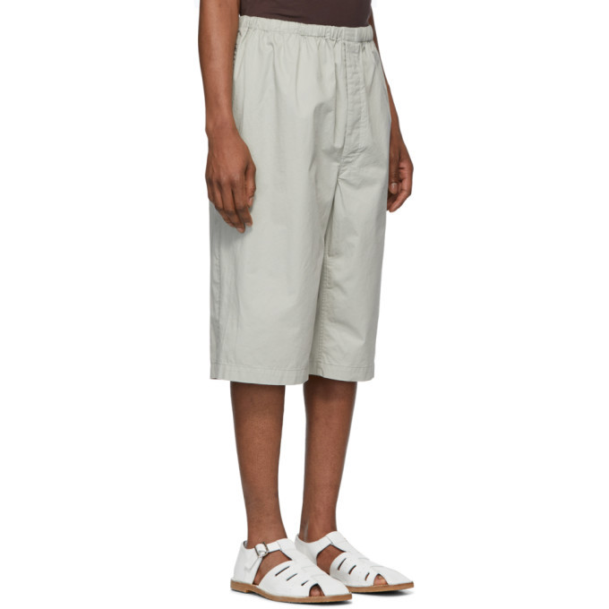 Lemaire Grey Sunspel Edition Twill Shorts