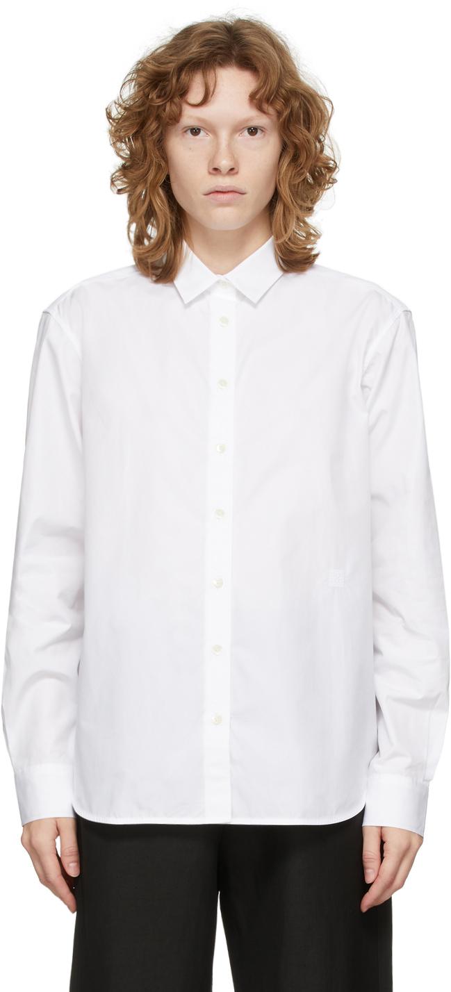 Photo: Totême White Cotton Signature Shirt