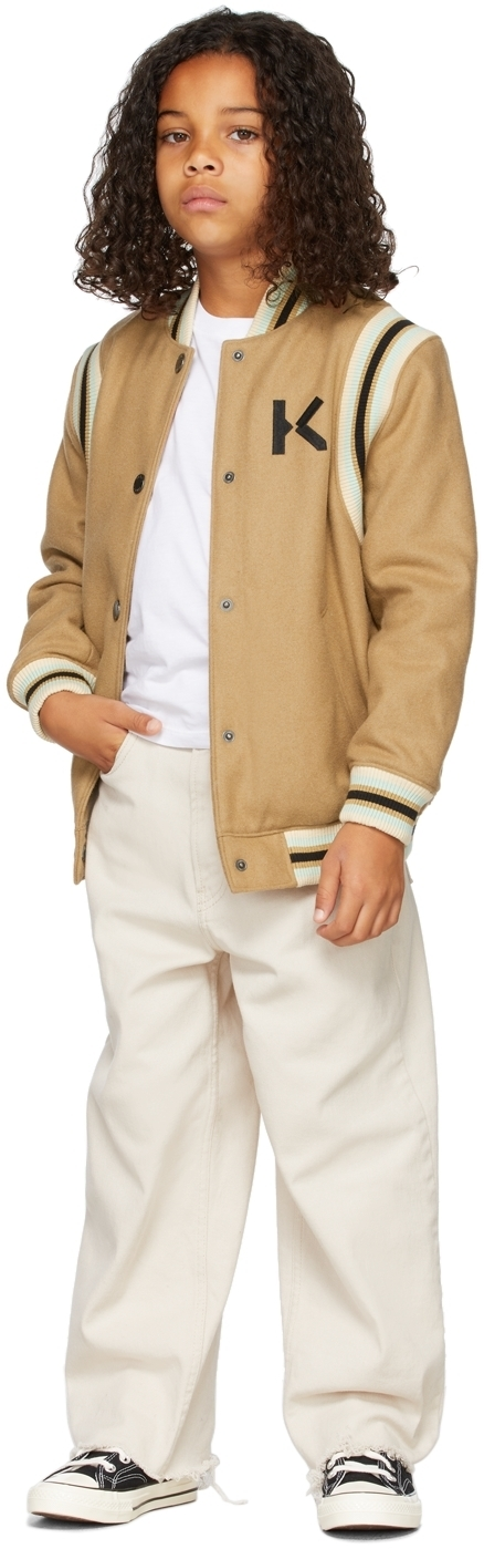 Photo: Kenzo Kids Wool Varsity Jacket