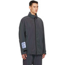 MCQ Black Reflective Windbreaker Jacket