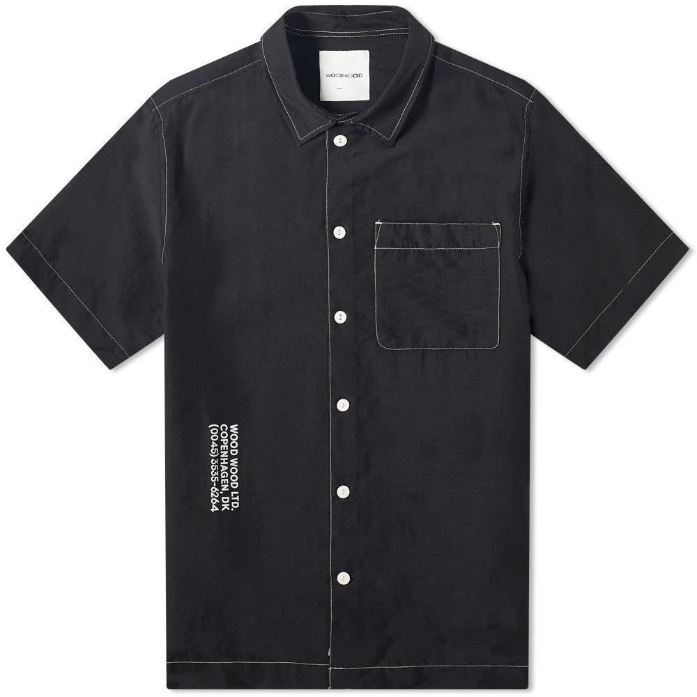 Wood Wood Thor Logo Short Sleeve Shirt