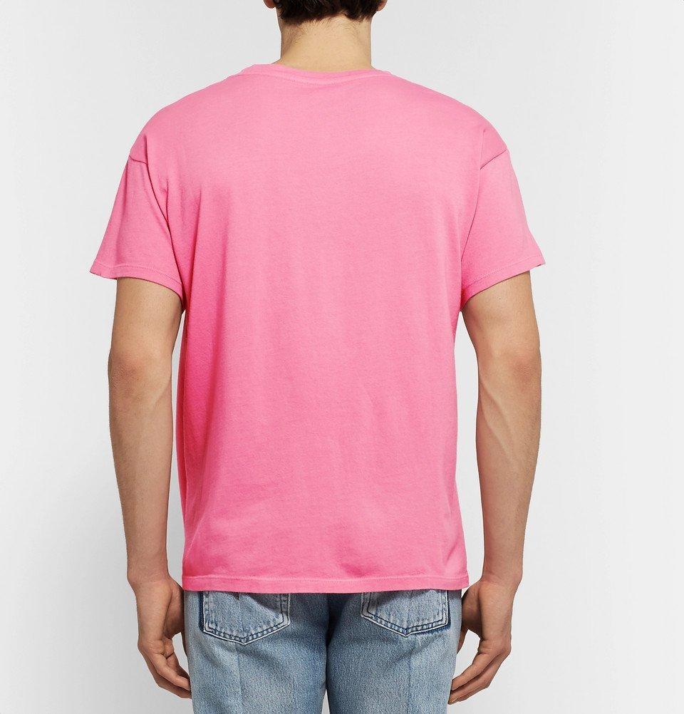 The Elder Statesman - Cotton-Jersey T-Shirt - Pink