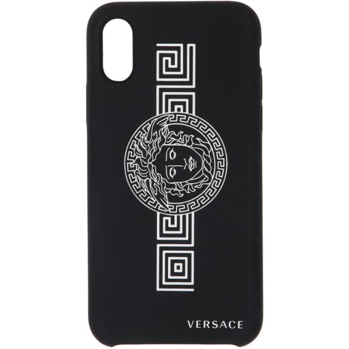Versace Black Medusa iPhone X/XS Case