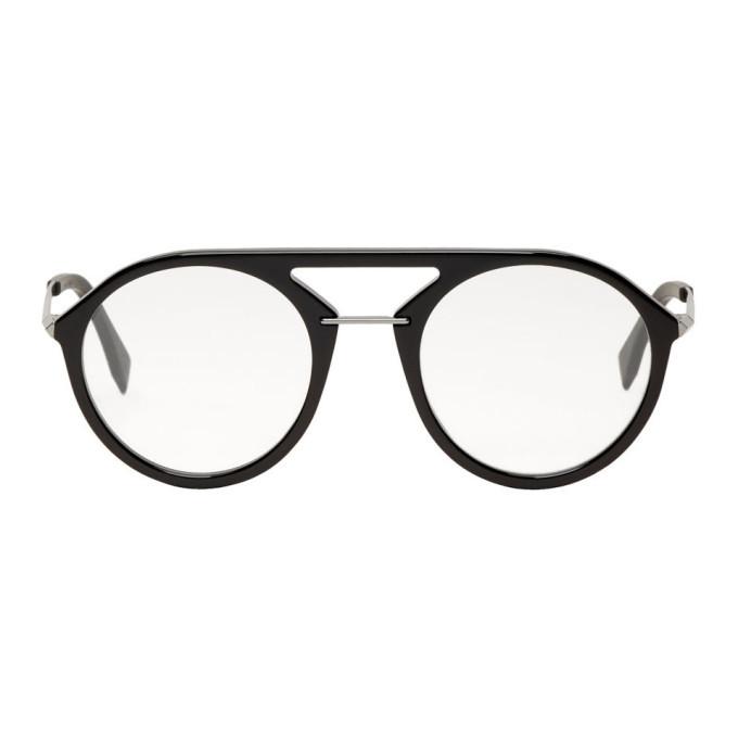 Photo: Fendi Black Ff M0034 Glasses