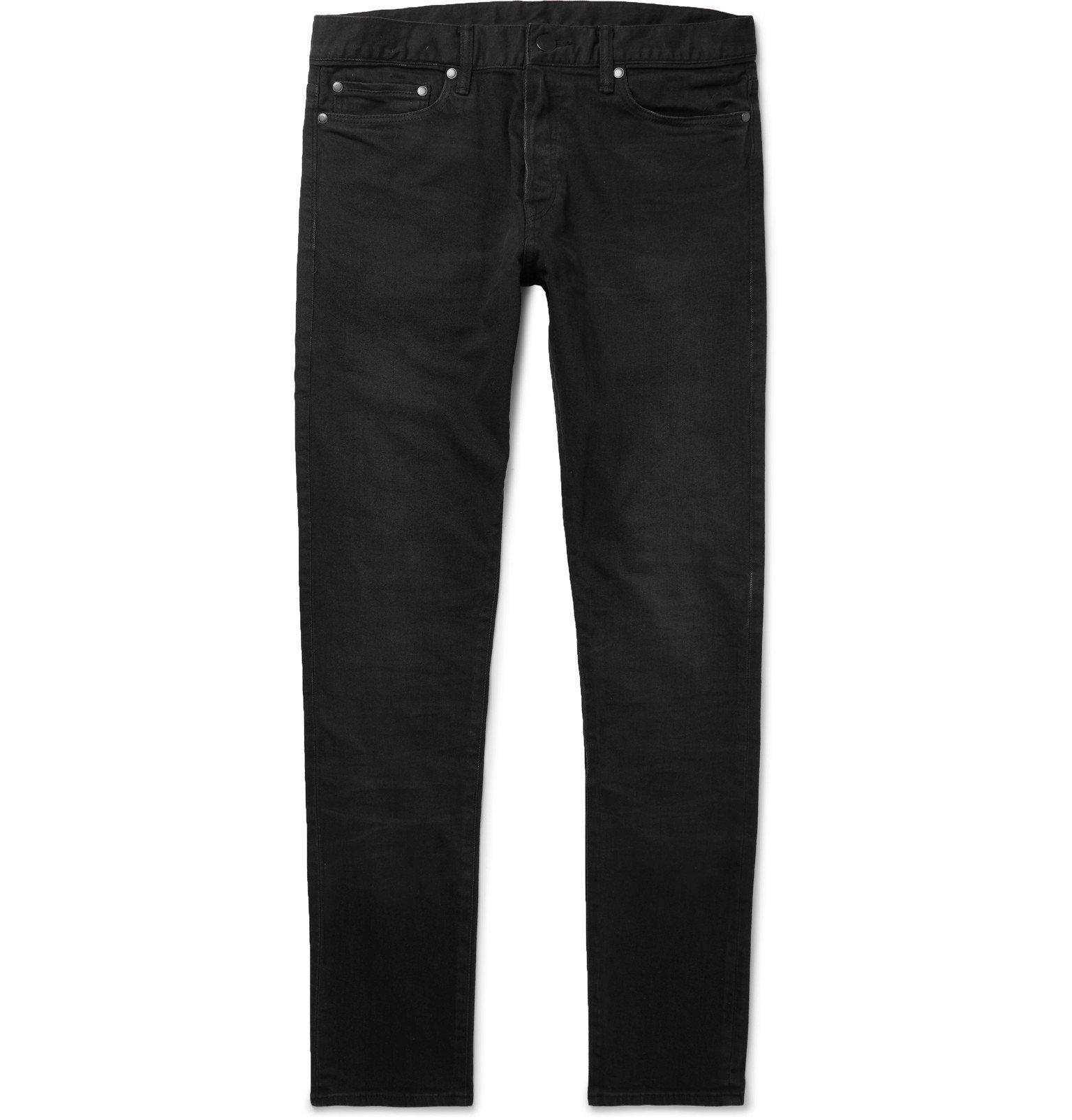 Photo: John Elliott - The Cast 2 Slim-Fit Denim Jeans - Black