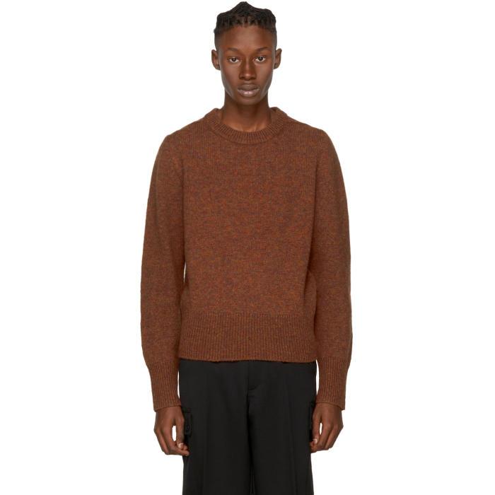 Acne Studios Tan Wool Kai Sweater