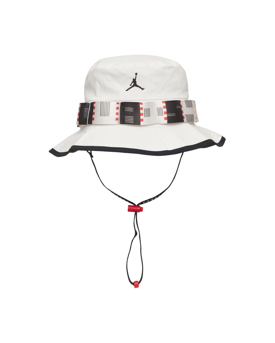 Photo: Nike Jordan Quai 54 Bucket Hat White/Black/Black