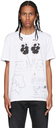 Loewe White Pansy Print T-Shirt