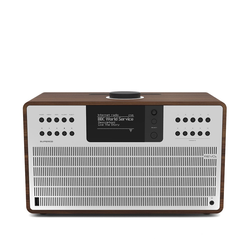 Photo: Revo Super CD Multi System DAB Radio & Bluetooth