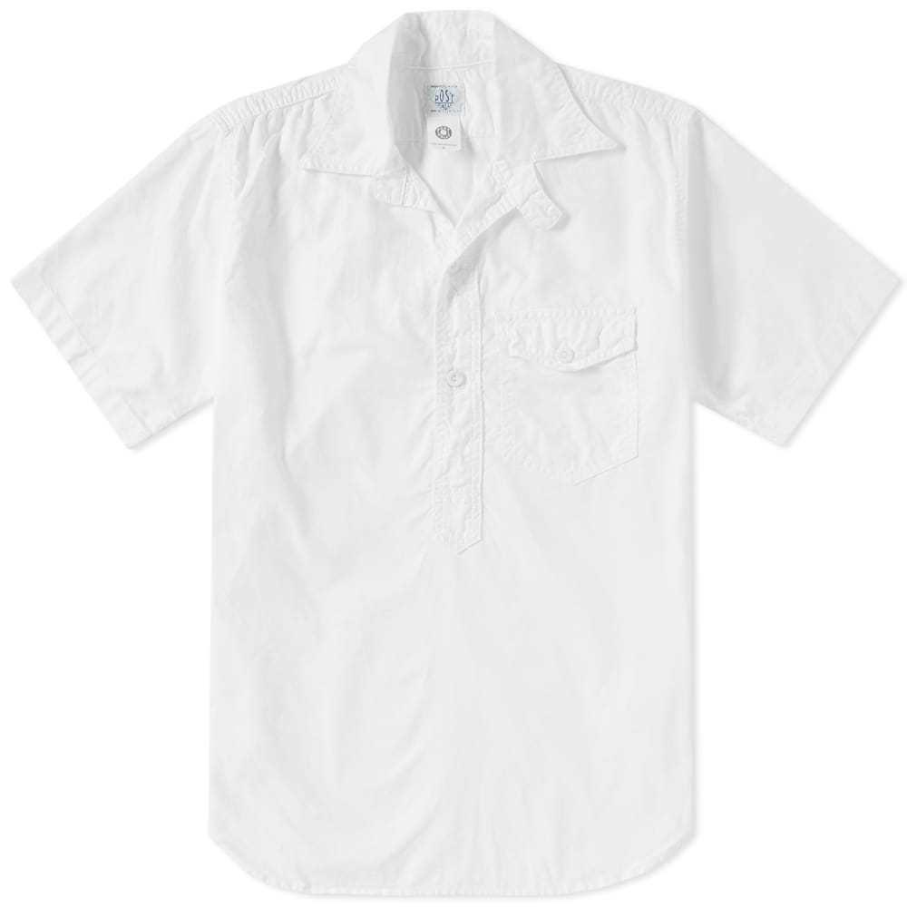 Photo: Post Overalls Short Sleeve C-Post 4 POS Shirt White