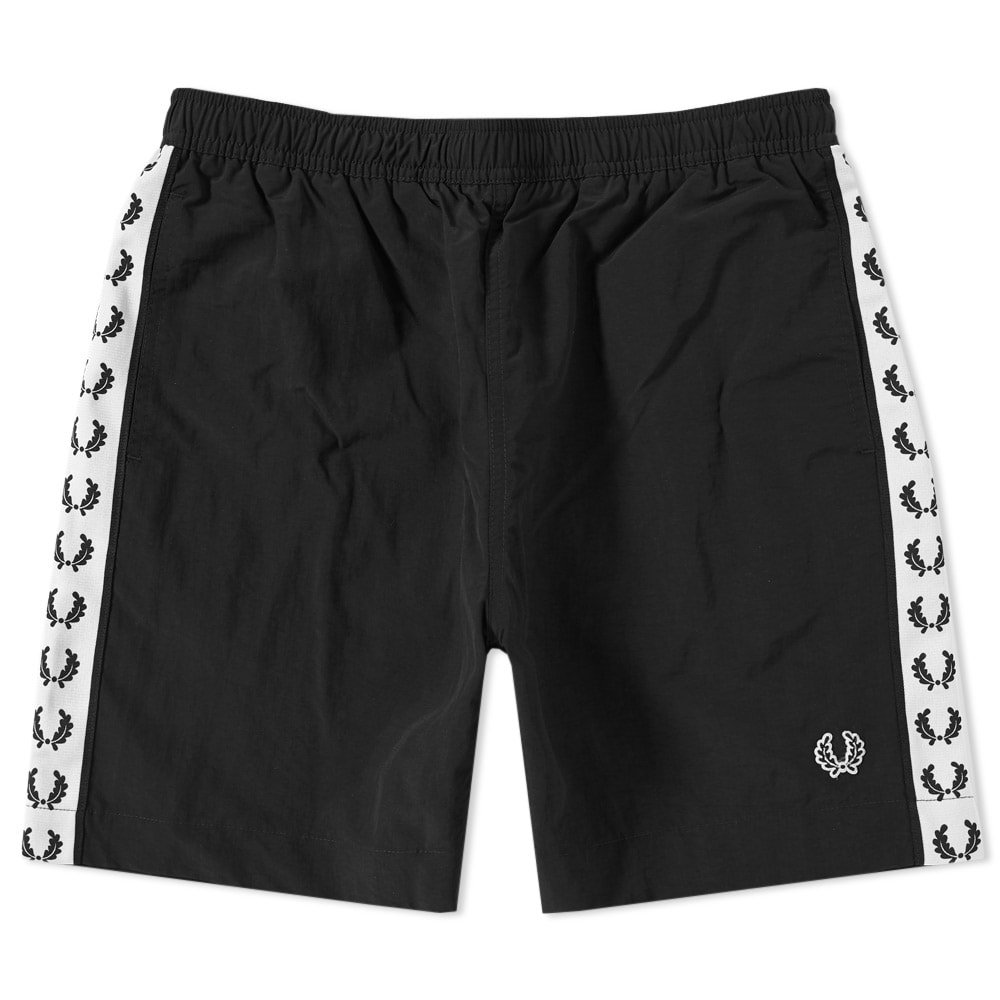 Photo: Fred Perry Taped Swim Short Black