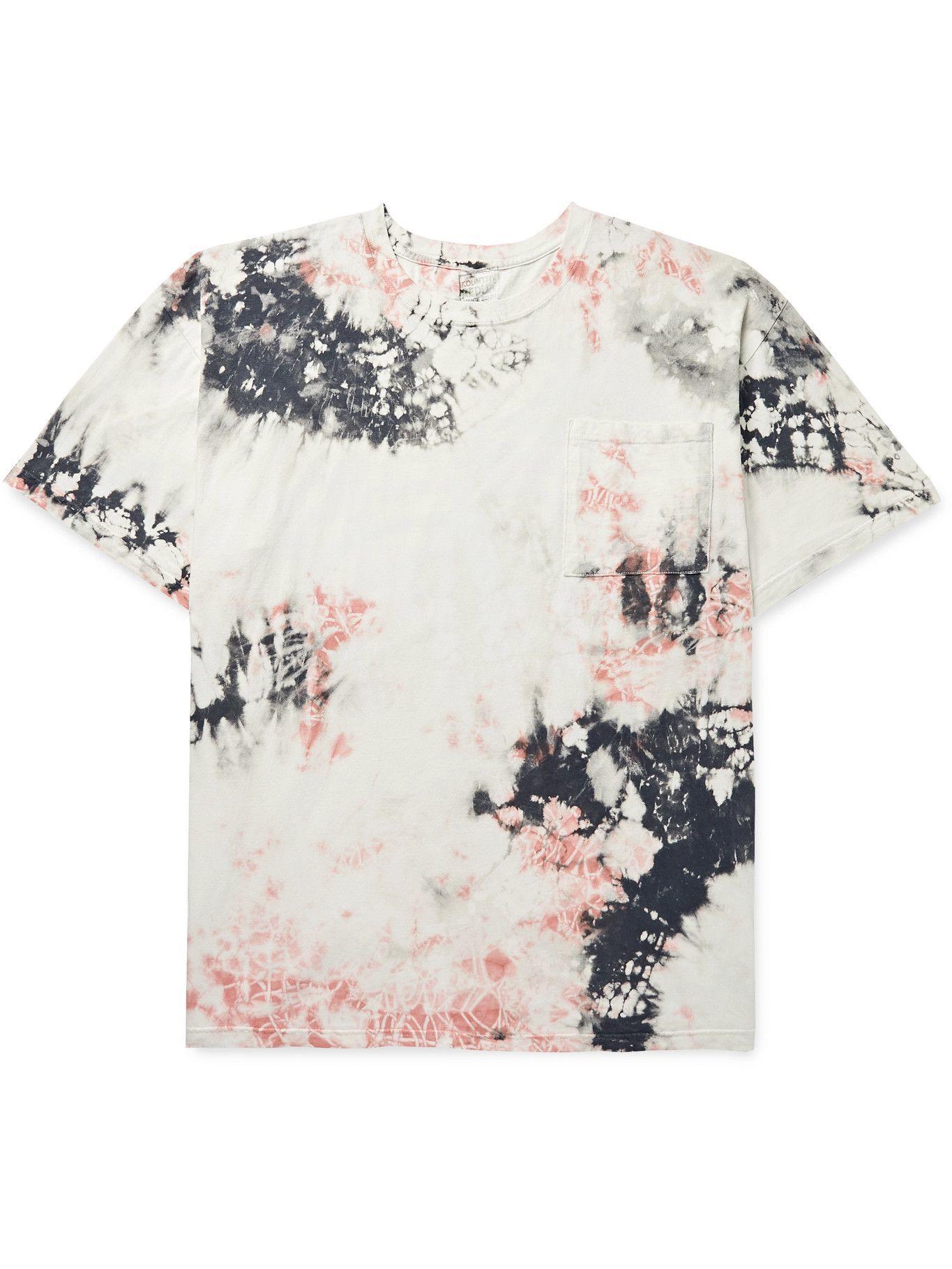 Photo: KAPITAL - Ashbury Oversized Printed Tie-Dyed Cotton-Jersey T-Shirt