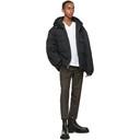 3.1 Phillip Lim Black Short Duvet Jacket