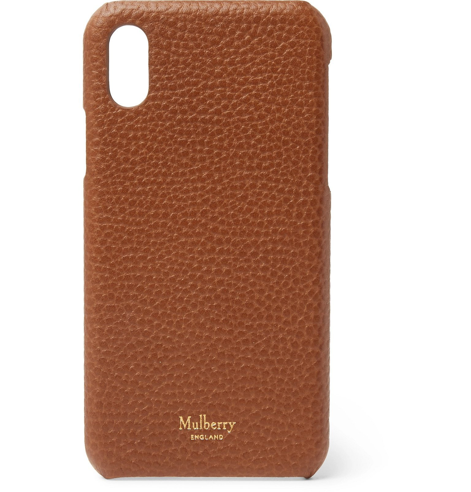 Photo: Mulberry - Full-Grain Leather iPhone X Case - Brown
